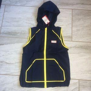 Hunter for Target Boys hooded Zip Front Vest